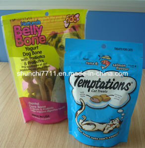 Printed Vivid Plat Bottom Pouch for Pet Food pictures & photos
