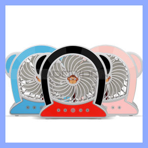 New Arrival Monkey Shape 2000mAh Long Time Working Rechargeable USB Mini Fan pictures & photos