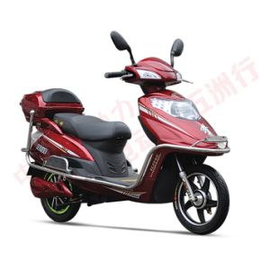 Fashion Longwise Chinese Electric Scooter 60V 500W Electric Motorcycle pictures & photos