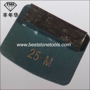 Single Bar Diamond Segment for Redi-Lock Concrete Grinding Machine