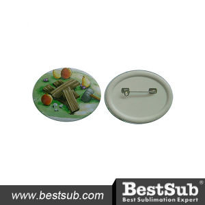 Bestsub 55mm Oval Personalized Button Badge (XK55) pictures & photos