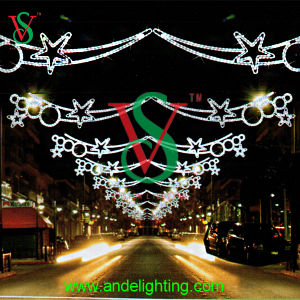 LED Christmas Motif Cross Street Light Fancy Star Decoration pictures & photos