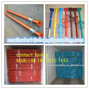 Powder Coated Steel Props /Shoring Prop for Scaffolding pictures & photos