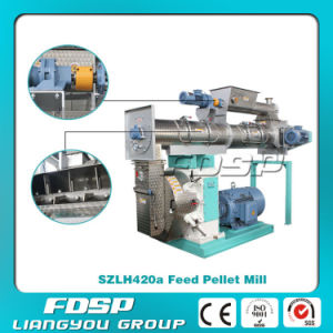 CE/ISO/SGS Approved Output 3-14t/H Animal Feed Pelletizer Machine pictures & photos