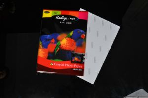 High Glossy Cast Coated Inkjet Print Photo Paper (GSBCCG-039)