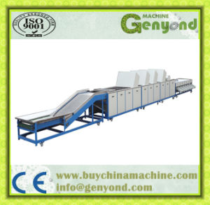 Fruit Washing Waxing Drying and Grading Machine pictures & photos
