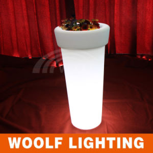 High LED Illuminate Round Flower Pot/ Flowerpot/Planter pictures & photos