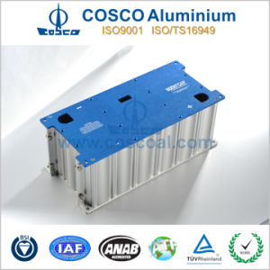 SGS Approved Aluminum Profile Extrusion for Electronics Enclosure with ISO9001 Certificated pictures & photos