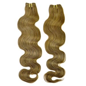 Brown Color Body Wave Human Hair Weft pictures & photos