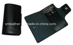 Factory Supply Black Key Wallet Leather with Lowest Price pictures & photos