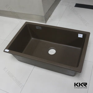 China Quartz Integrated Undermount Kitchen Sink China