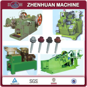 Metal Frame Self-Drilling Screw Production Line with Zinc Processing pictures & photos