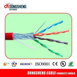 Linan Dongsheng Cable Factory Supply with 4 Pairs CCA/Cu Cat5e FTP Cable pictures & photos