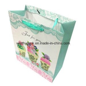 Printing Custom Paper Shopping Bag Gift Paper Bag pictures & photos
