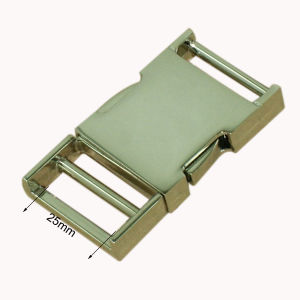 High Quality Fashion Bags Metal Quick Release Buckle pictures & photos