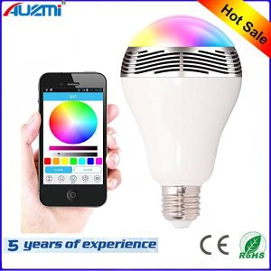 Colorful Bulb LED Light Bluetooth Speaker pictures & photos