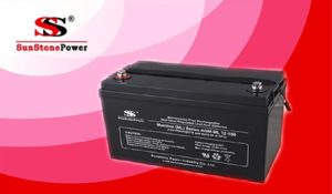 12V100ah Lead Acid Solar Battery Storage Lead Acid Battery pictures & photos