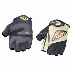 Cycling Half Finger Sports Bike Bicycle Cycle Sports Equipment Glove Gel Padding Gift Mountain Bike Fingerless Sports Wear Jw09c011 pictures & photos