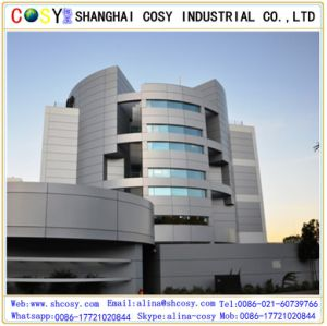 Aluminum Cladding Panel Installation/Aluminum Composite Panels pictures & photos