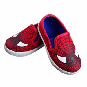 Flat Kids Canvas Shoes with Custom Kids Running Shoes pictures & photos