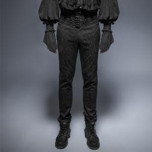 K-243 Gothic Vintage Button Slim Man Feet Pants pictures & photos