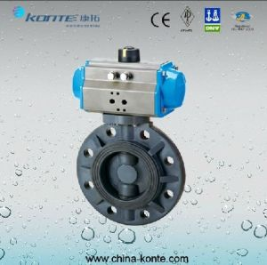 Wafer Type Triple Eccentric Butterfly Valve pictures & photos
