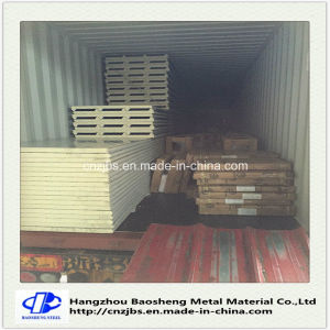 Fireproof PU Foam Sandwich Panel Price Wall Panel pictures & photos