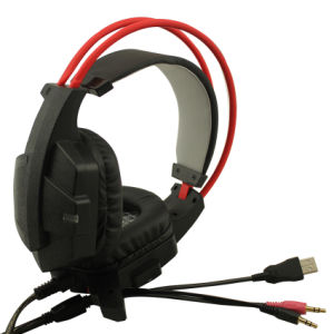 Top Quality Factory Price Glowing Gaming Headset with LED pictures & photos