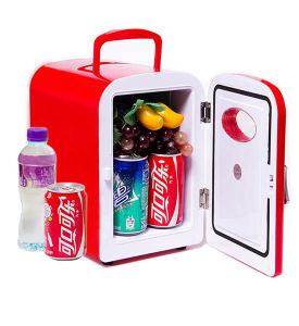 Fasionable Mini Fridge 4 Liter with DC12V, AC100-240V, for Cooling and Warming pictures & photos