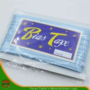 "Satin Bias Binding Tape with Card Packing (HATBTC5/8""*25YDS) pictures & photos"