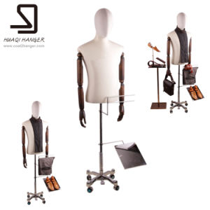 Male Mannequin Half Body, Male Half Torso Mannequines for Window Display pictures & photos