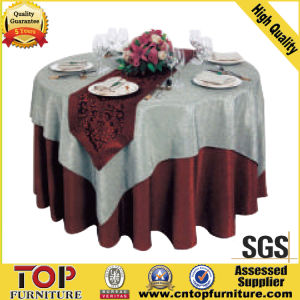 Hotel Durable Washable Table Cloth pictures & photos