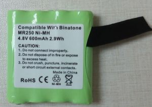 Two Way Radio Battery for Binatone Mr250 pictures & photos