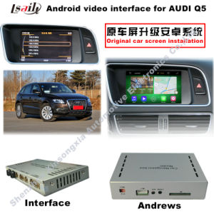 HD All-Purpose Car Upgrading Android Interface GPS Navigation Box for Q7/Q3 with Whole Service pictures & photos