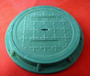 Manhole Cover/FRP Trench Cover/Construction pictures & photos