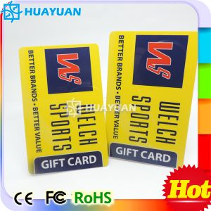 13.56MHz ISO MIFARE Classic 4K Blank PVC White Card pictures & photos