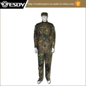 German Jungle Camouflage Military Uniform Hunting Suit Tactical Wargame Uniform pictures & photos