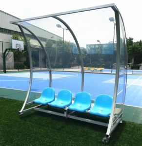 Soccer Player Bench, Dugouts, Sports Seating Bench pictures & photos