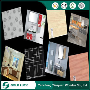 Paper Overlaid Indoors Use Furniture Decoration Plywood pictures & photos