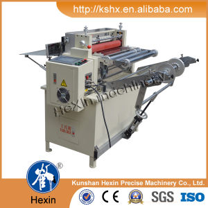 Hexin 360sq Microcomputer Cross Cutting Machine (CE certificated) pictures & photos