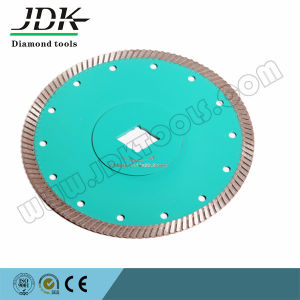 High Cutting Efficiency Sintered Diamond Turbo Countinuous Blade pictures & photos