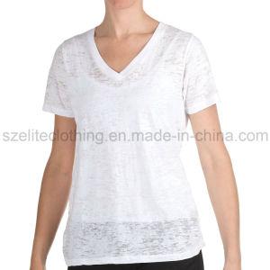 Cheap Girls 100 Cotton T-Shirt (ELTWTJ-380) pictures & photos