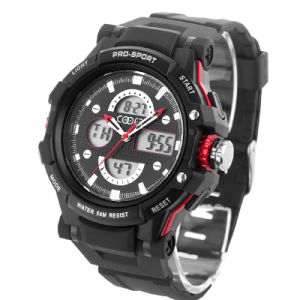 Big Face Digital Watch with 30m Waterproof pictures & photos