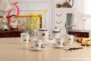 Hot Sales Home Decoration Tea Set Ceramic