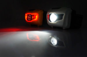3 LEDs Mini Headlight Headlamp Flashlight Torch Lamp Light for Running pictures & photos