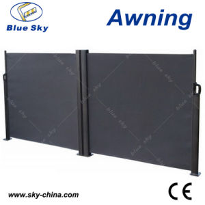 Popular Polyester Retractable Side Screen Awnings (B700-3) pictures & photos
