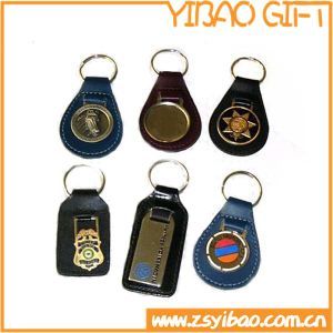 2017 Hot Sale High Quality Leather Keychain for Advertising Gifts (YB-k-027) pictures & photos