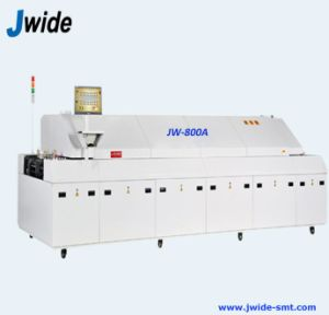Hot Air 8 Zone PCB Soldering Oven Machine with Big Size pictures & photos