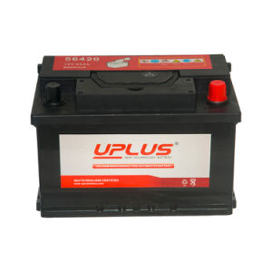 DIN Standard Maintenance Free Automotive Battery (MF 56420 12V64AH) pictures & photos