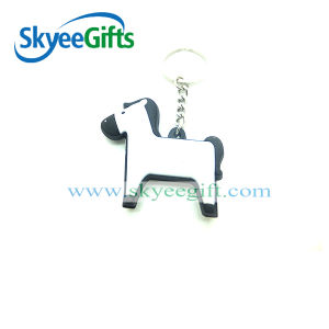 Custom PVC 3D Horse Shaped Keychain pictures & photos